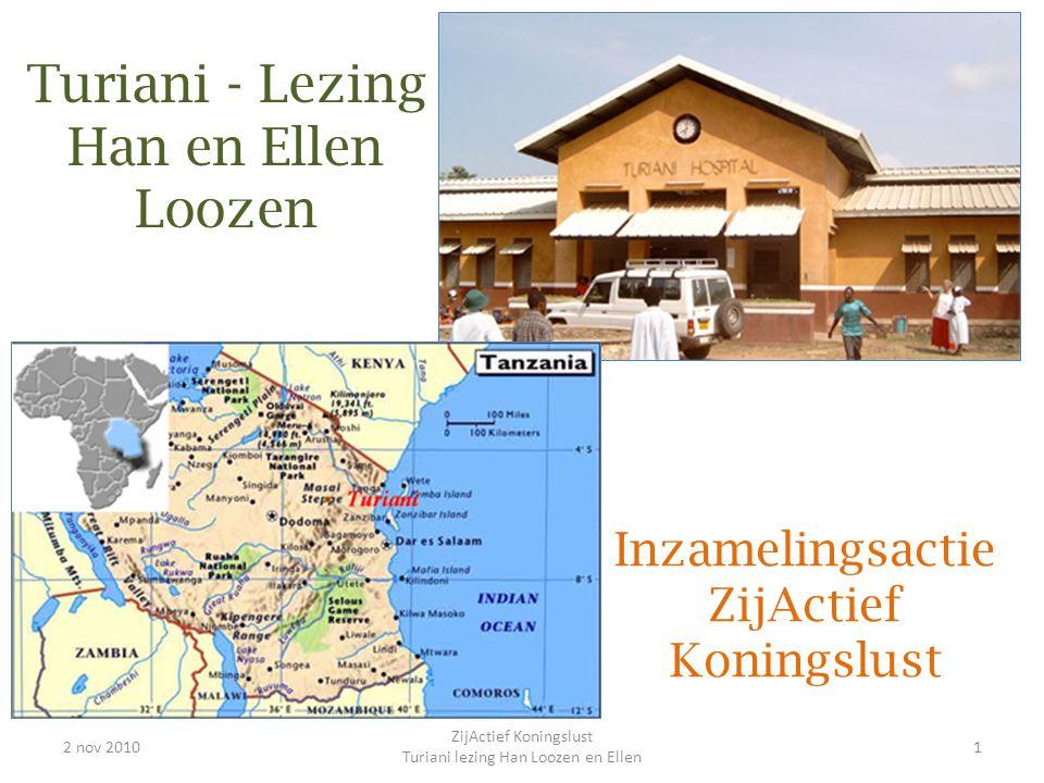Turiani - Lezing Han en Ellen Loozen