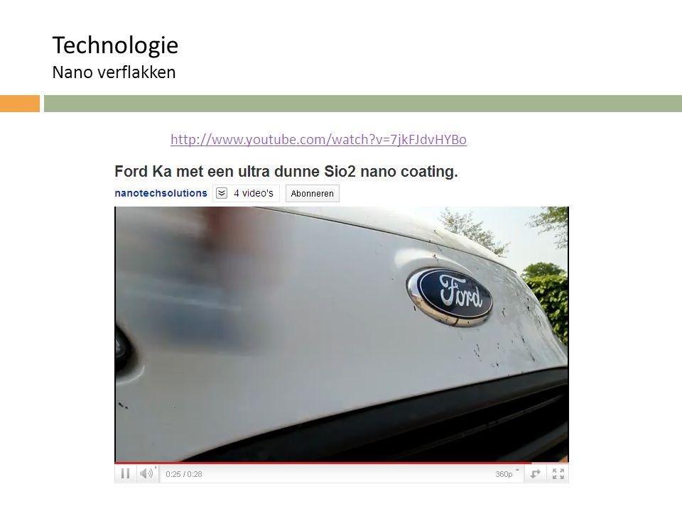 Technologie Nano verflakken http://www.youtube.com/watch v=7jkFJdvHYBo
