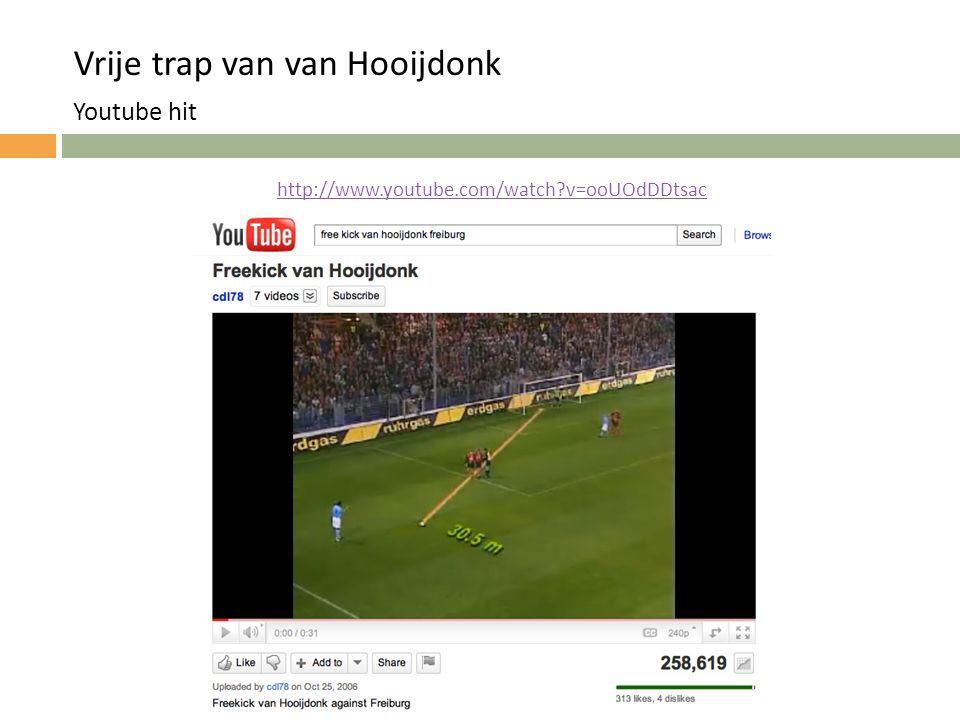Vrije trap van van Hooijdonk