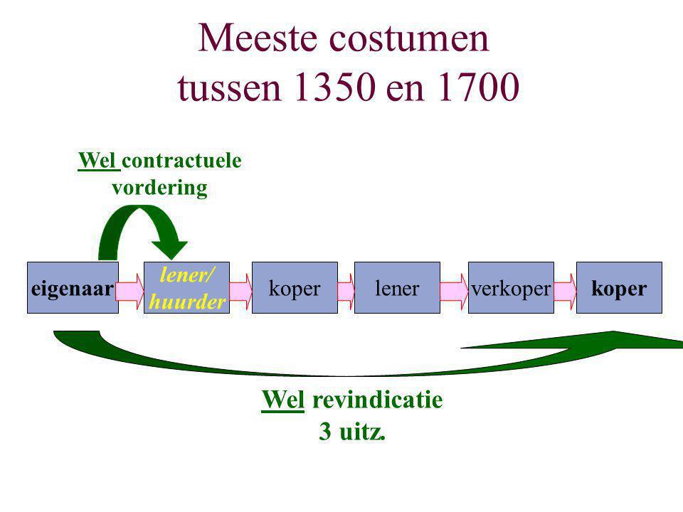 Meeste costumen tussen 1350 en 1700