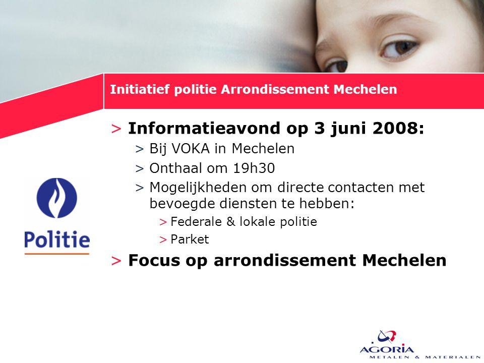 Initiatief politie Arrondissement Mechelen