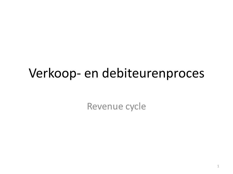Verkoop- en debiteurenproces