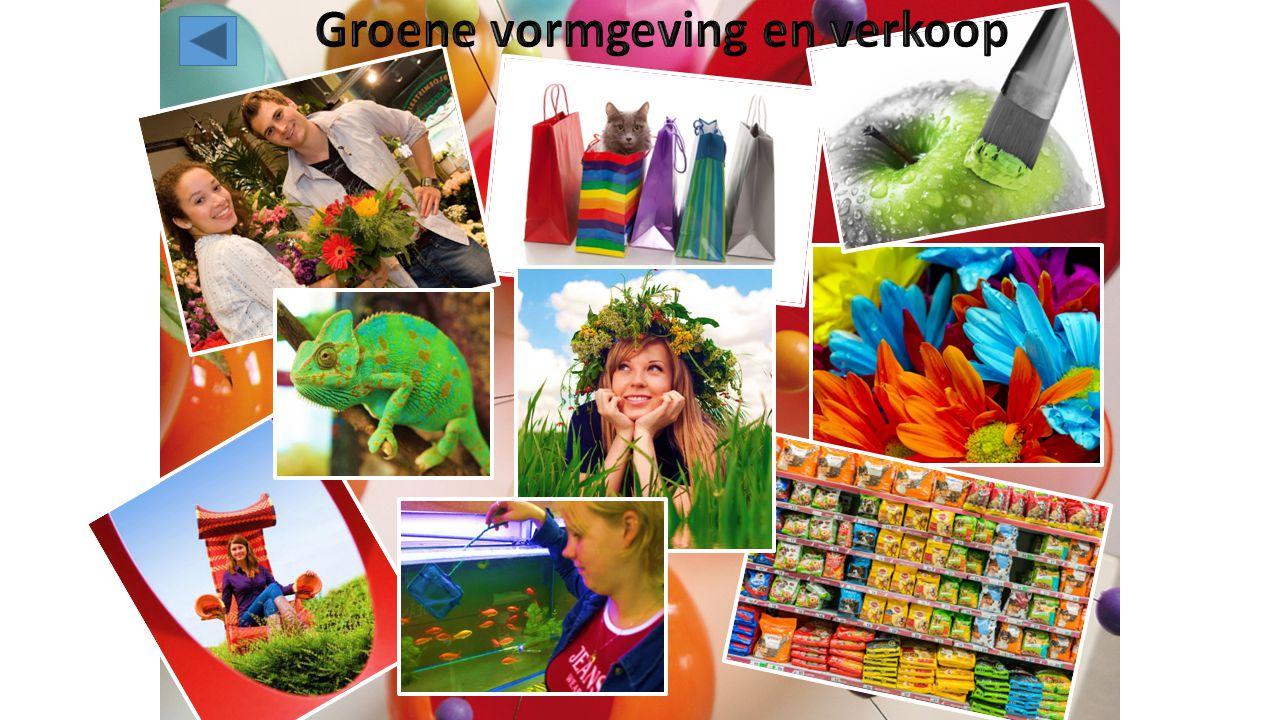 Groene vormgeving en verkoop