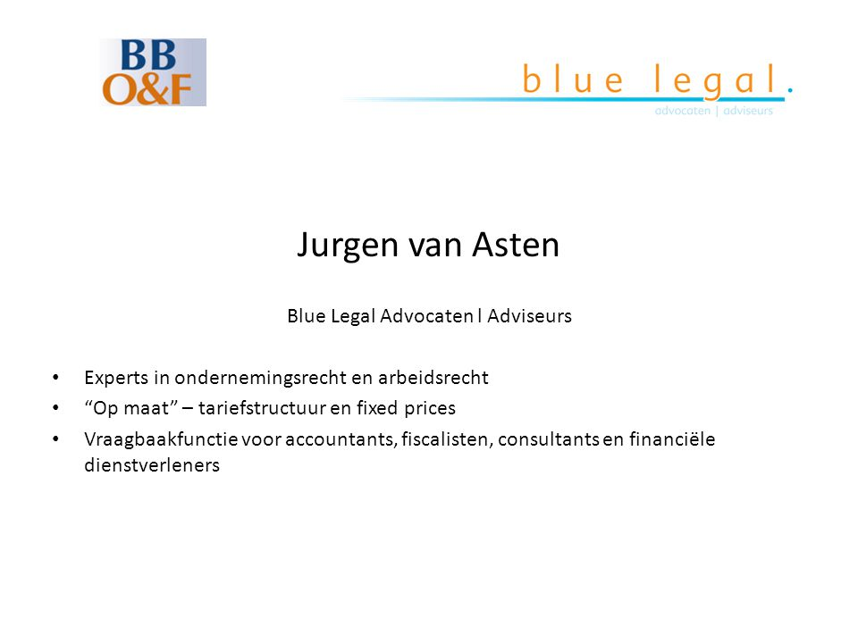 Blue Legal Advocaten l Adviseurs
