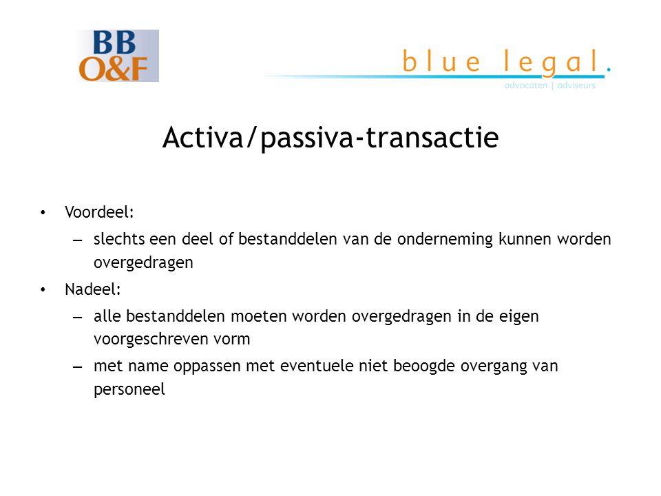 Activa/passiva-transactie
