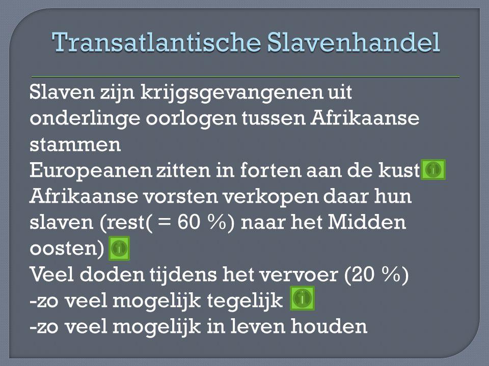 Transatlantische Slavenhandel