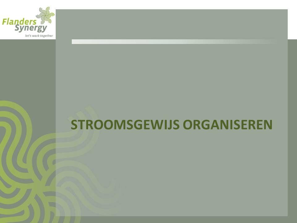 Stroomsgewijs organiseren