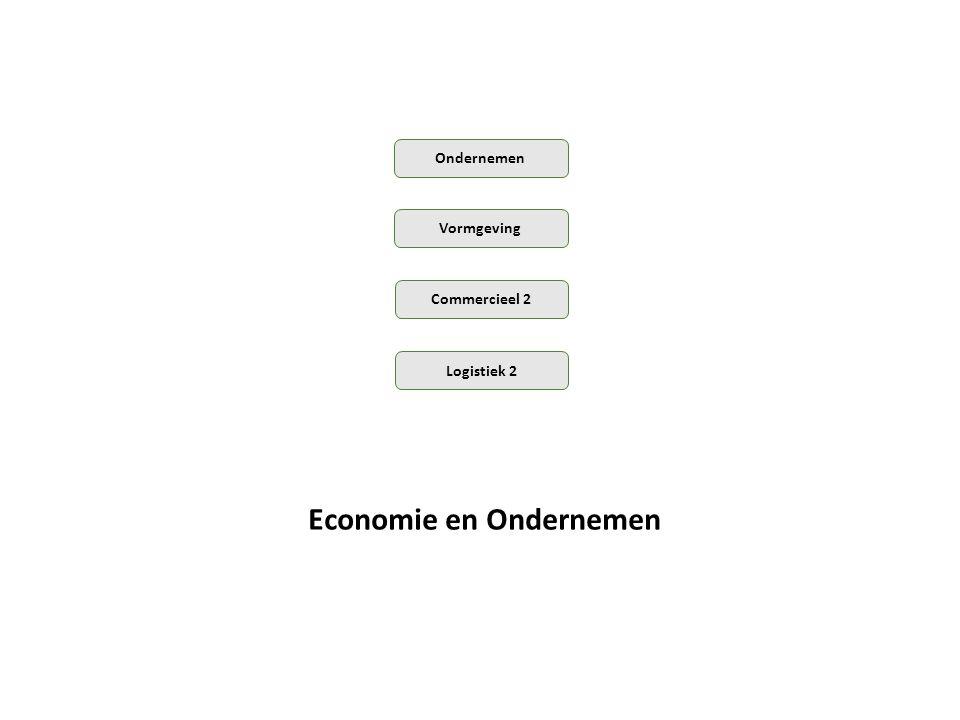 Economie en Ondernemen