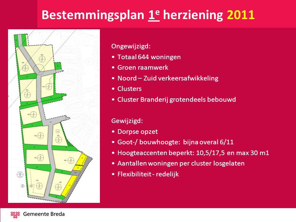 Bestemmingsplan 1e herziening 2011