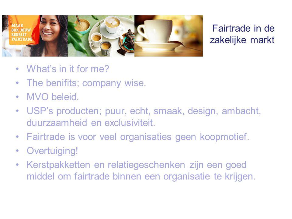 Fairtrade in de zakelijke markt