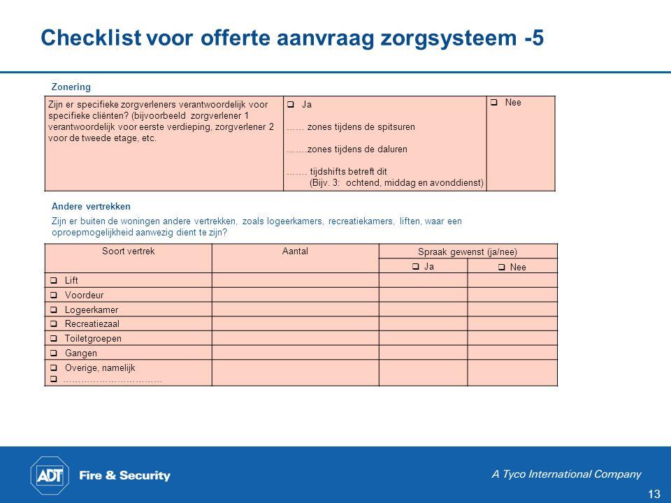 Checklist voor offerte aanvraag zorgsysteem -6