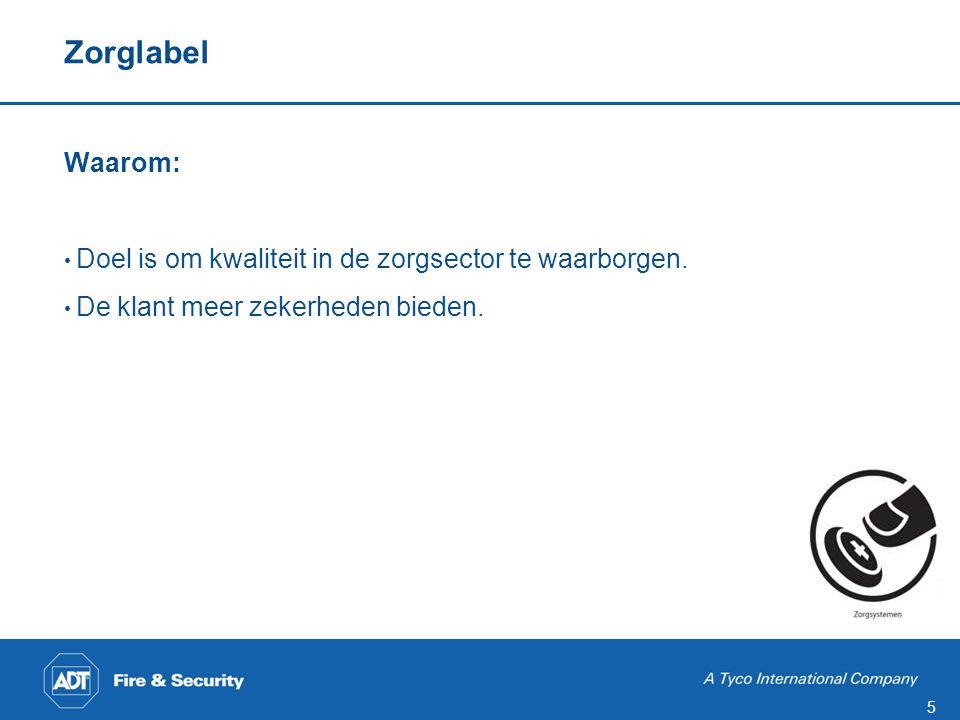Zorglabel Door wie: De VEBON zorg is een vereniging van leveranciers van producenten resp. importeurs van zorgsystemen.