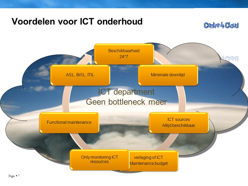 Voordelen voor ICT onderhoud