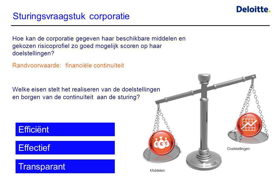 Sturingsvraagstuk corporatie