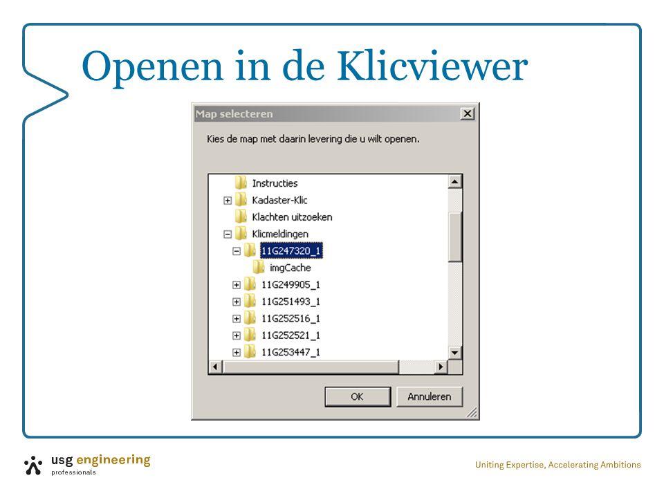 Openen in de Klicviewer