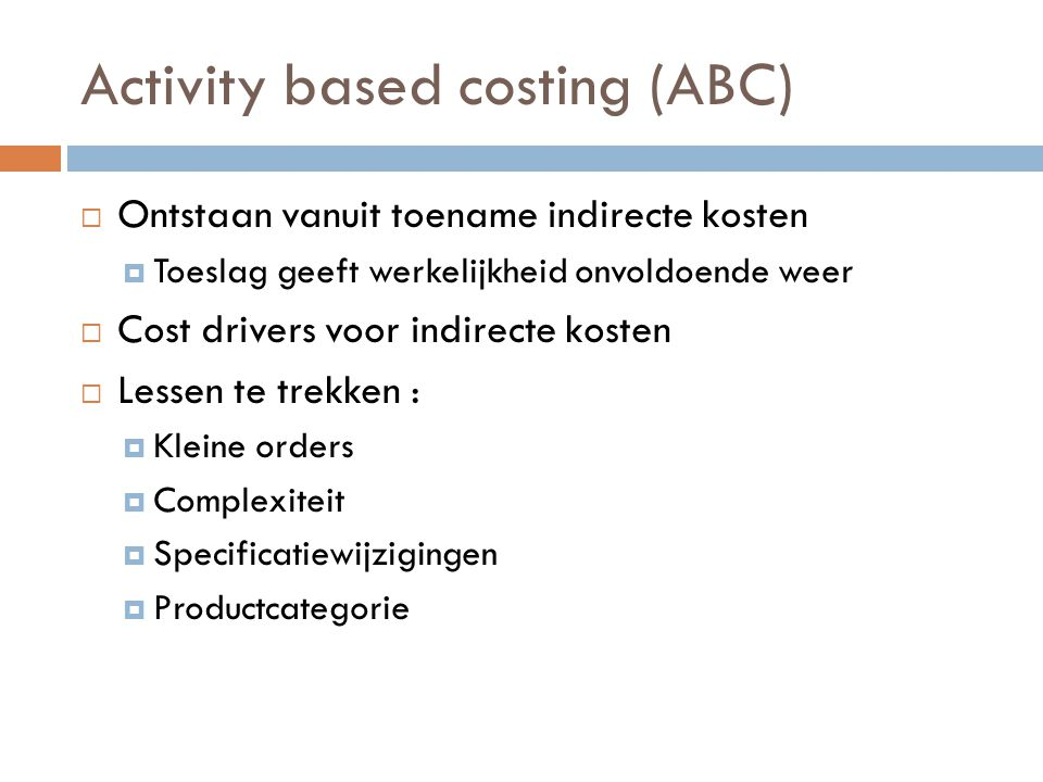 activity based costing in mcdonalds Total activity 8,000 gives three ideas on activity based costing the name and nature of the organization the activity and time report for mcdonalds.