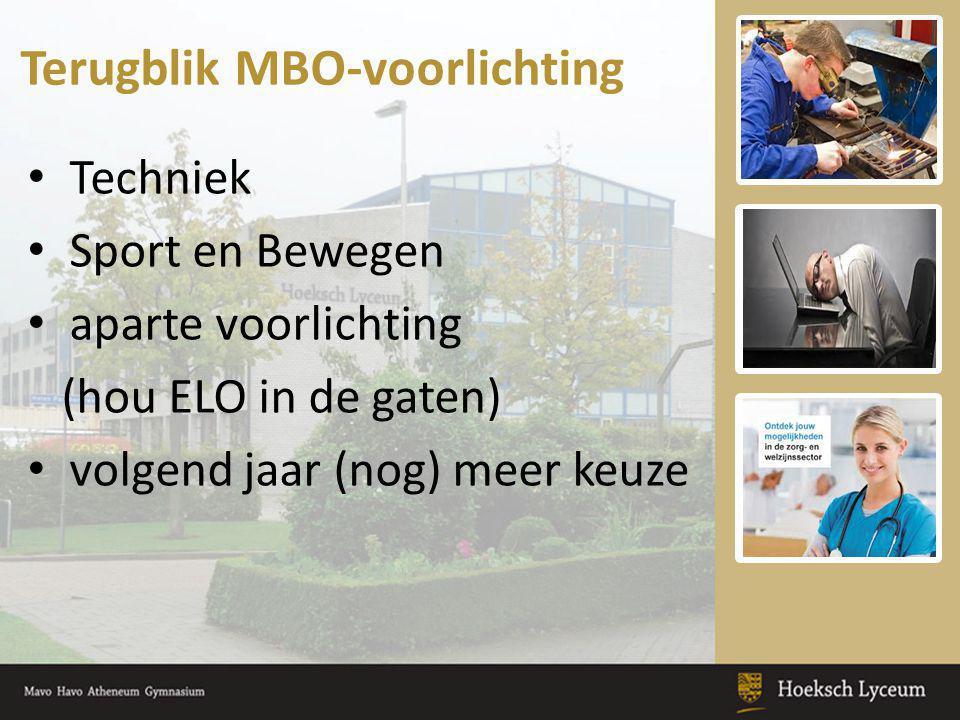 Terugblik MBO-voorlichting