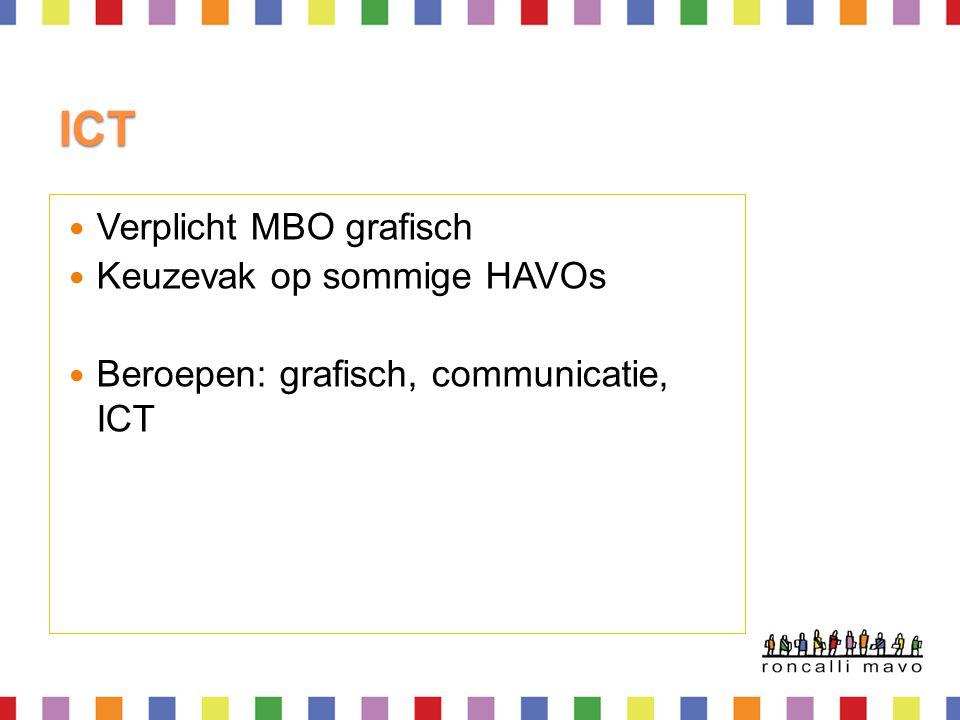 ICT Verplicht MBO grafisch Keuzevak op sommige HAVOs