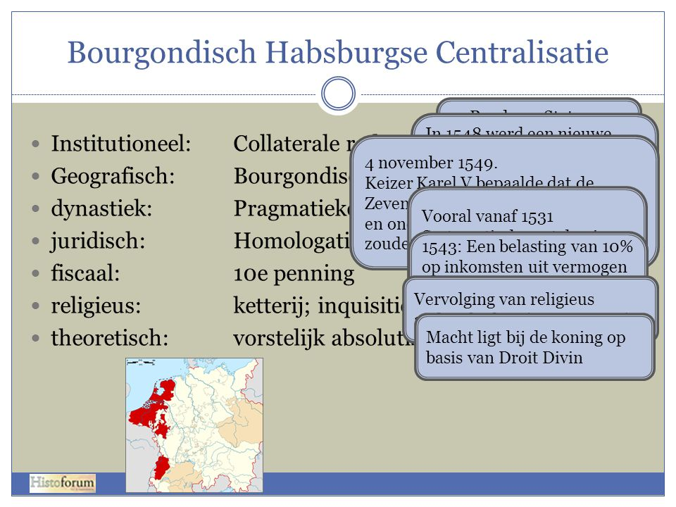 Bourgondisch Habsburgse Centralisatie