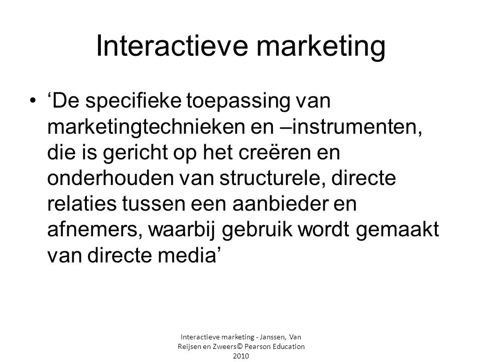 Interactieve marketing