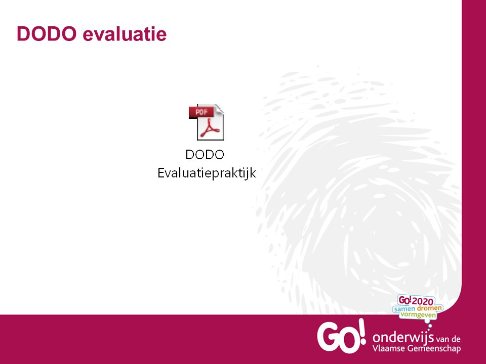 DODO evaluatie
