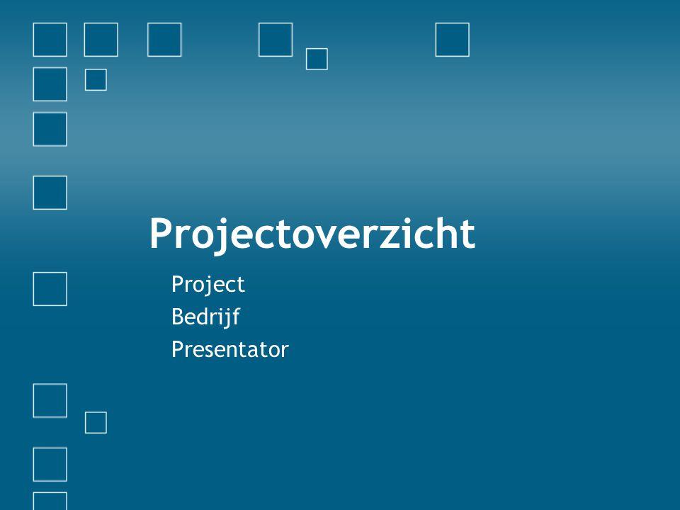 Project Bedrijf Presentator
