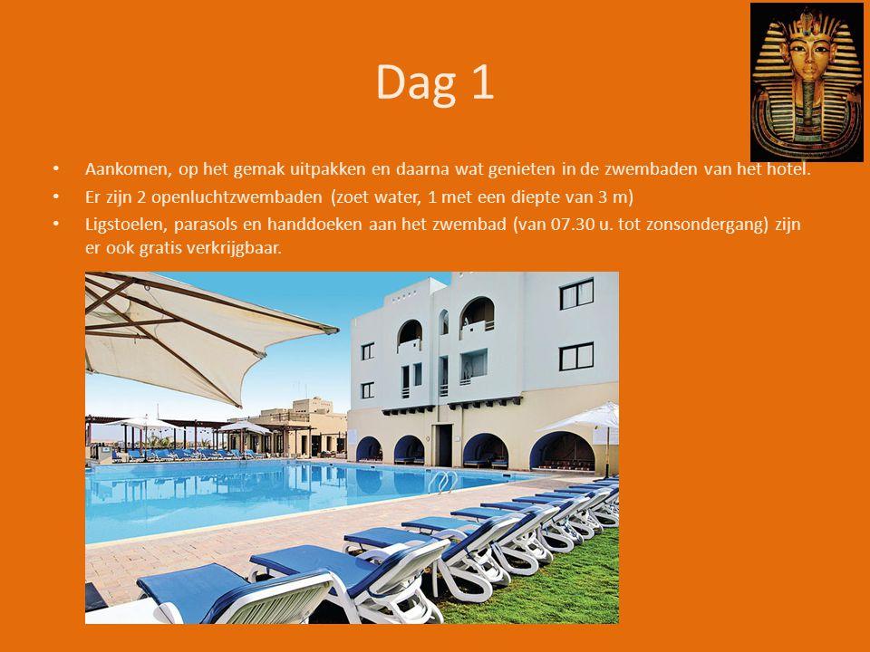 Dag 1 Aankomen, op het gemak uitpakken en daarna wat genieten in de zwembaden van het hotel.