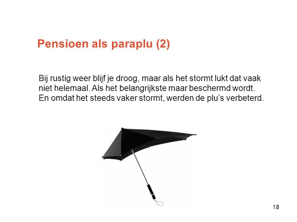Pensioen als paraplu (2)