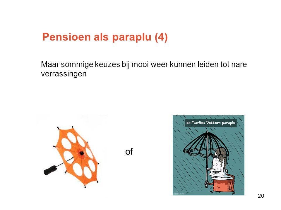 Pensioen als paraplu (4)