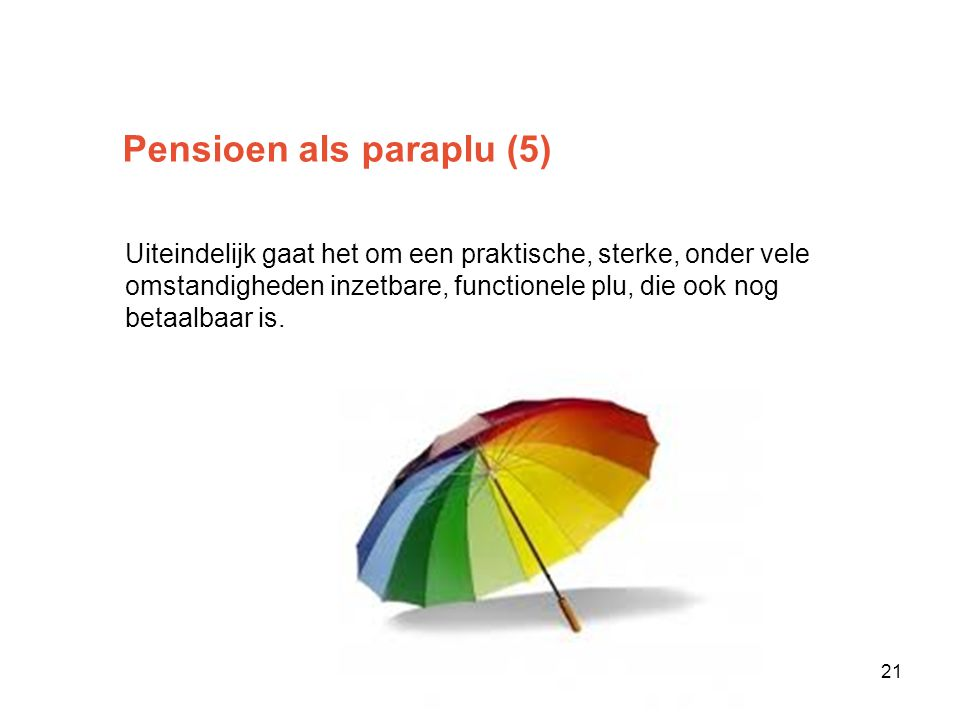 Pensioen als paraplu (5)