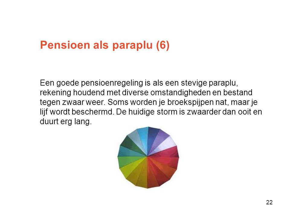 Pensioen als paraplu (6)