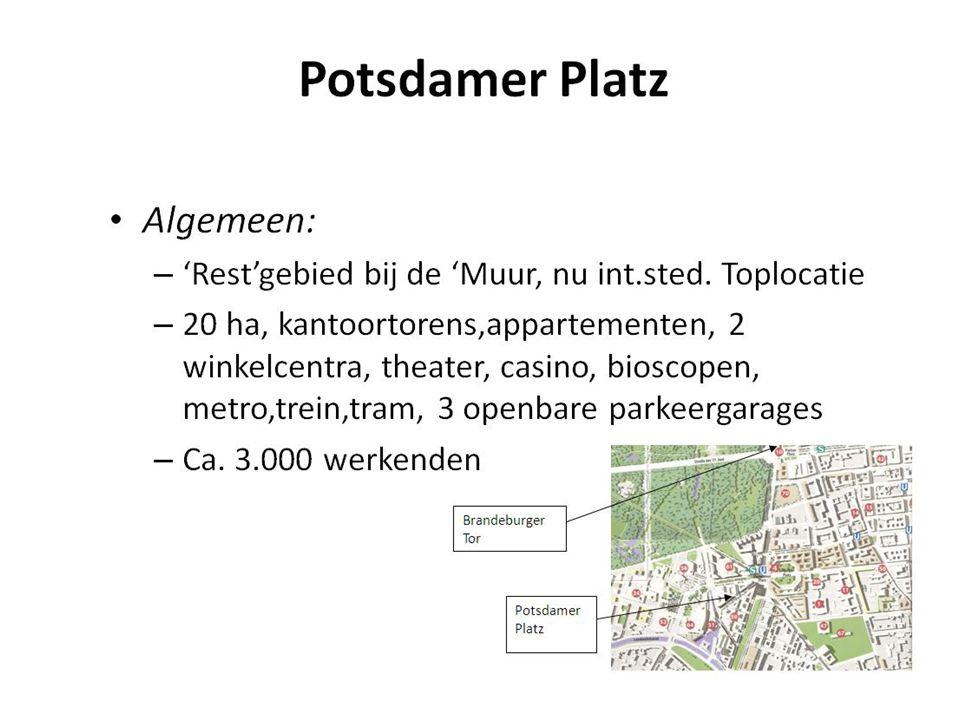 Potsdamer Platz Algemeen: