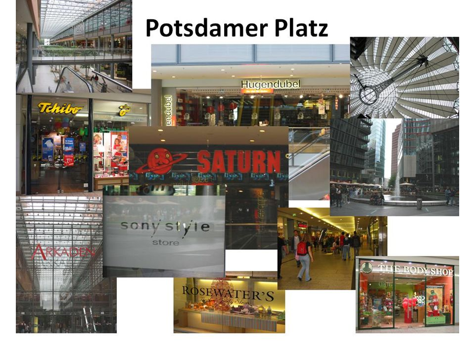 Potsdamer Platz Winkelconcept: