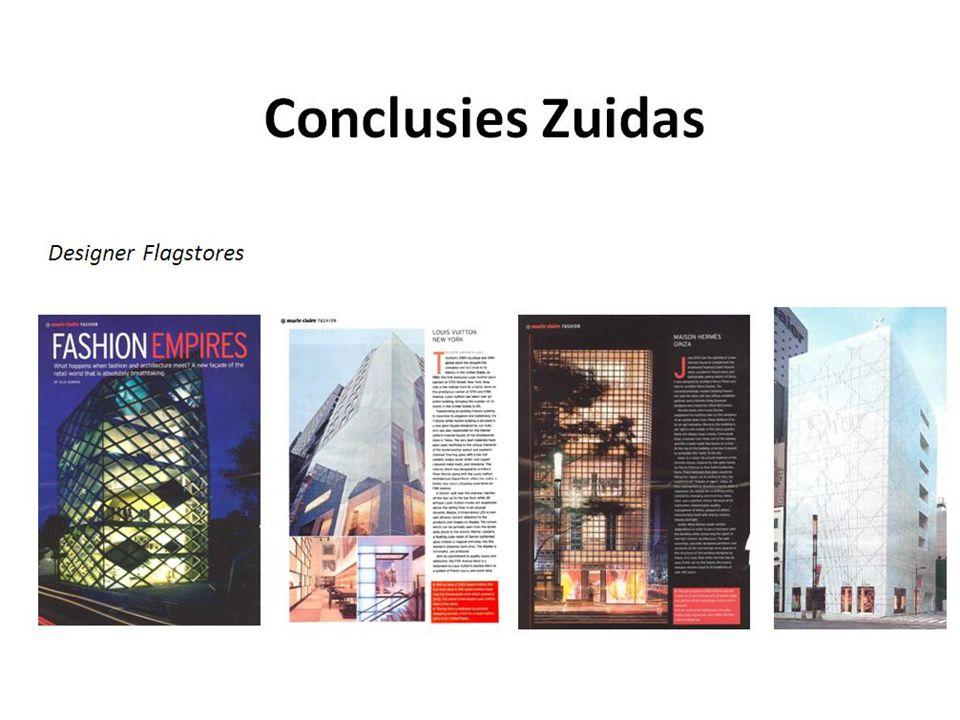 Conclusies Zuidas Designer Flagstores