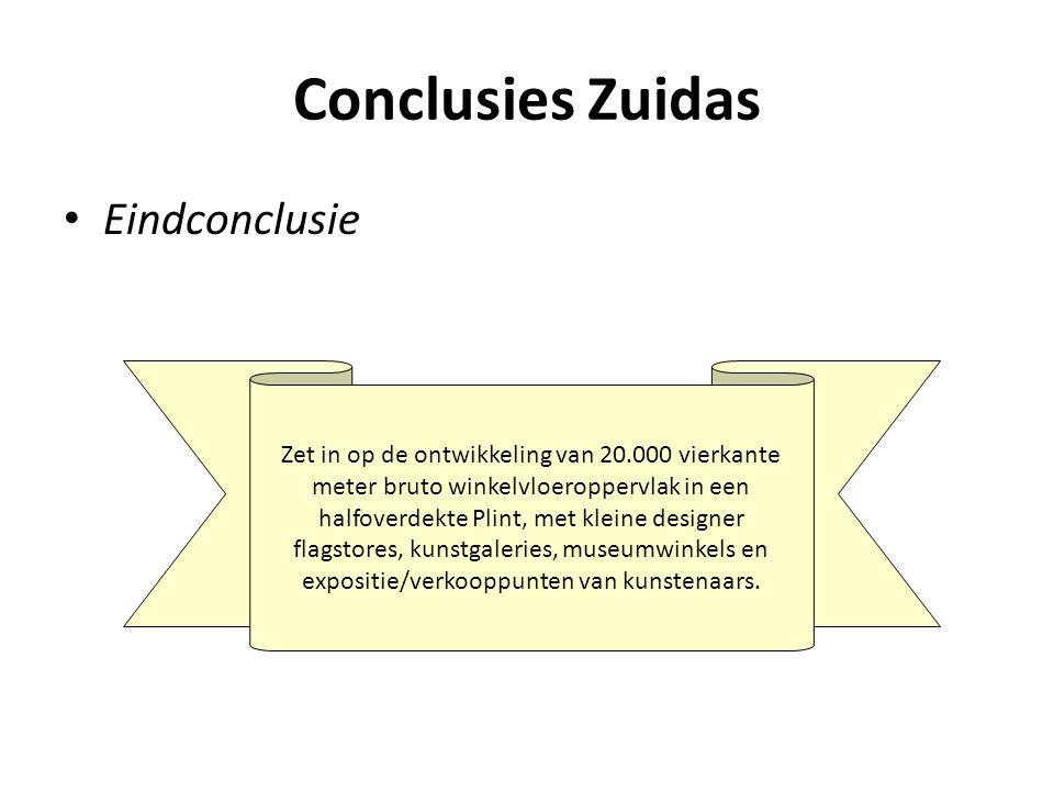 Conclusies Zuidas Eindconclusie