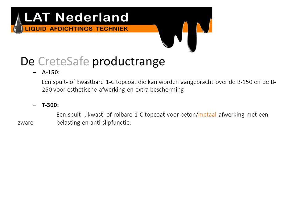 De CreteSafe productrange