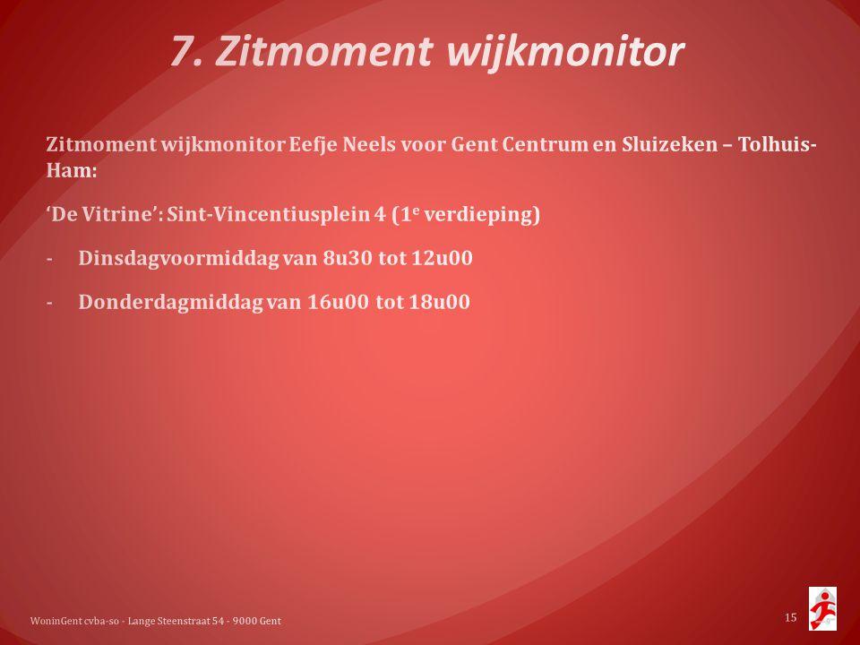 7. Zitmoment wijkmonitor