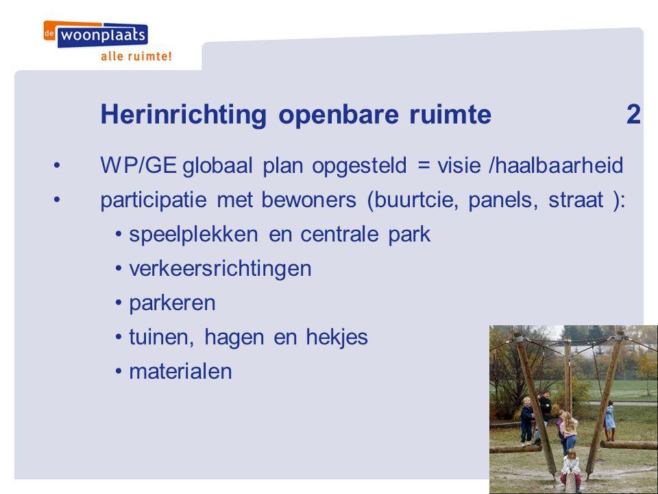 Herinrichting openbare ruimte 2