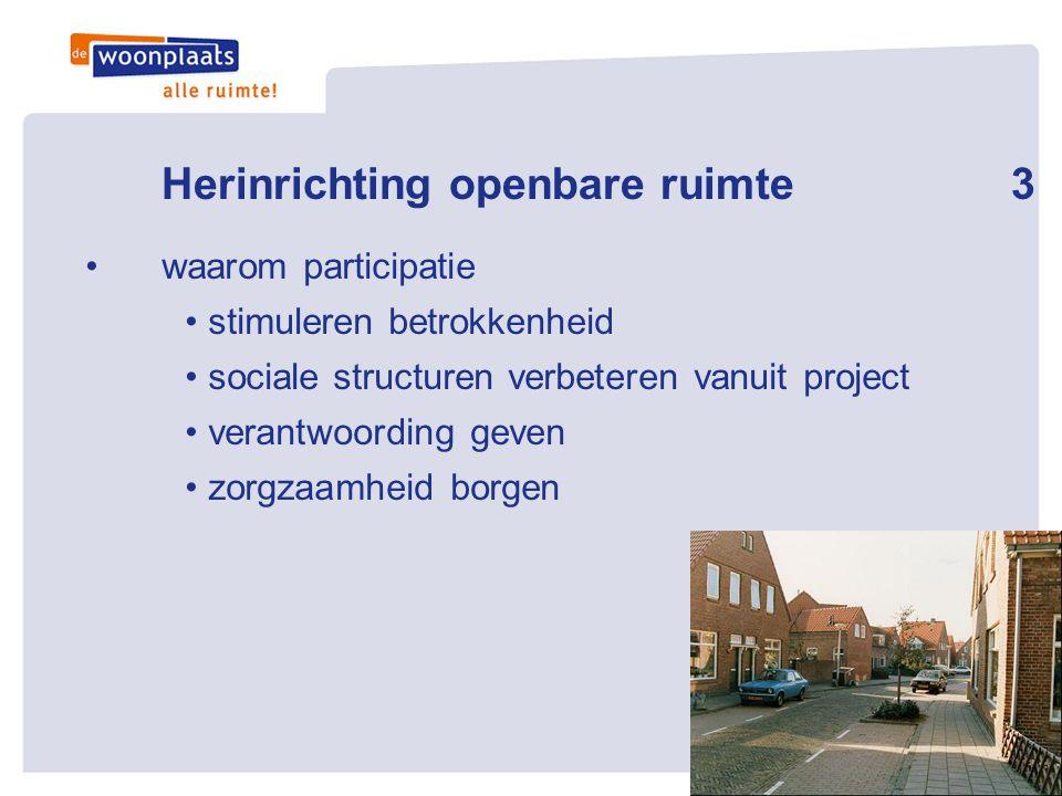 Herinrichting openbare ruimte 3