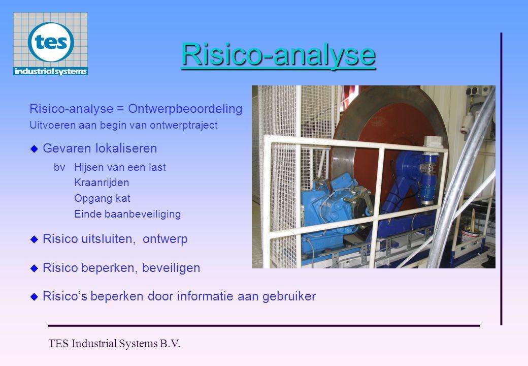 Risico-analyse Risico-analyse = Ontwerpbeoordeling Gevaren lokaliseren