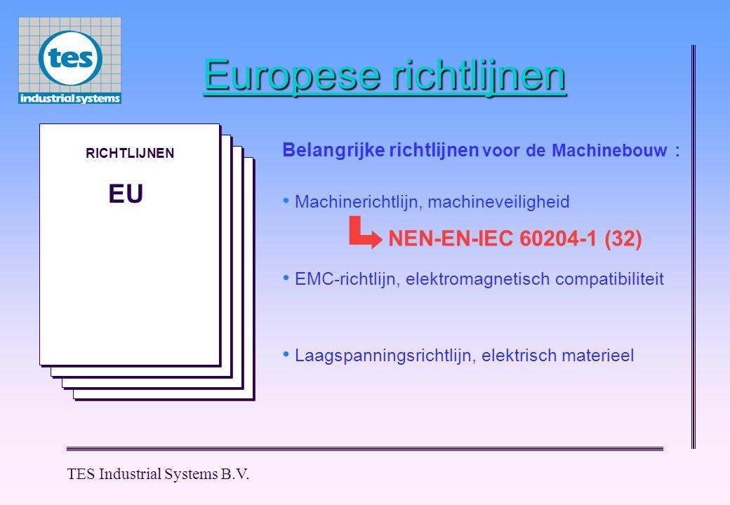 Europese richtlijnen EU NEN-EN-IEC 60204-1 (32)