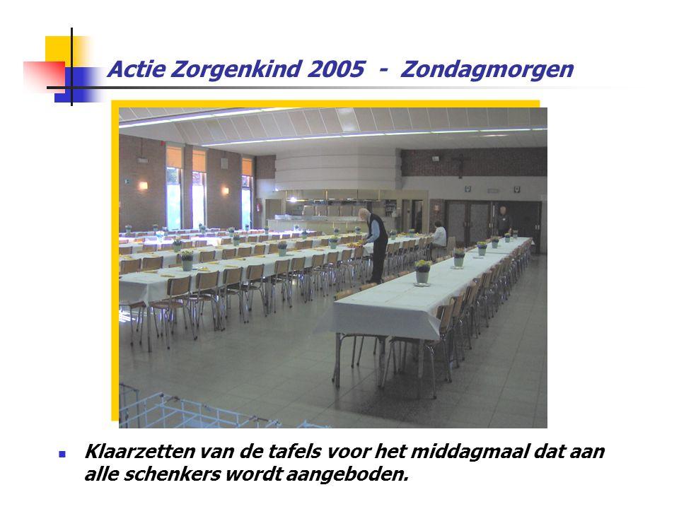 Actie Zorgenkind 2005 - Zondagmorgen