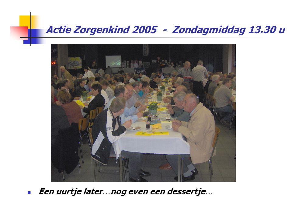 Actie Zorgenkind 2005 - Zondagmiddag 13.30 u