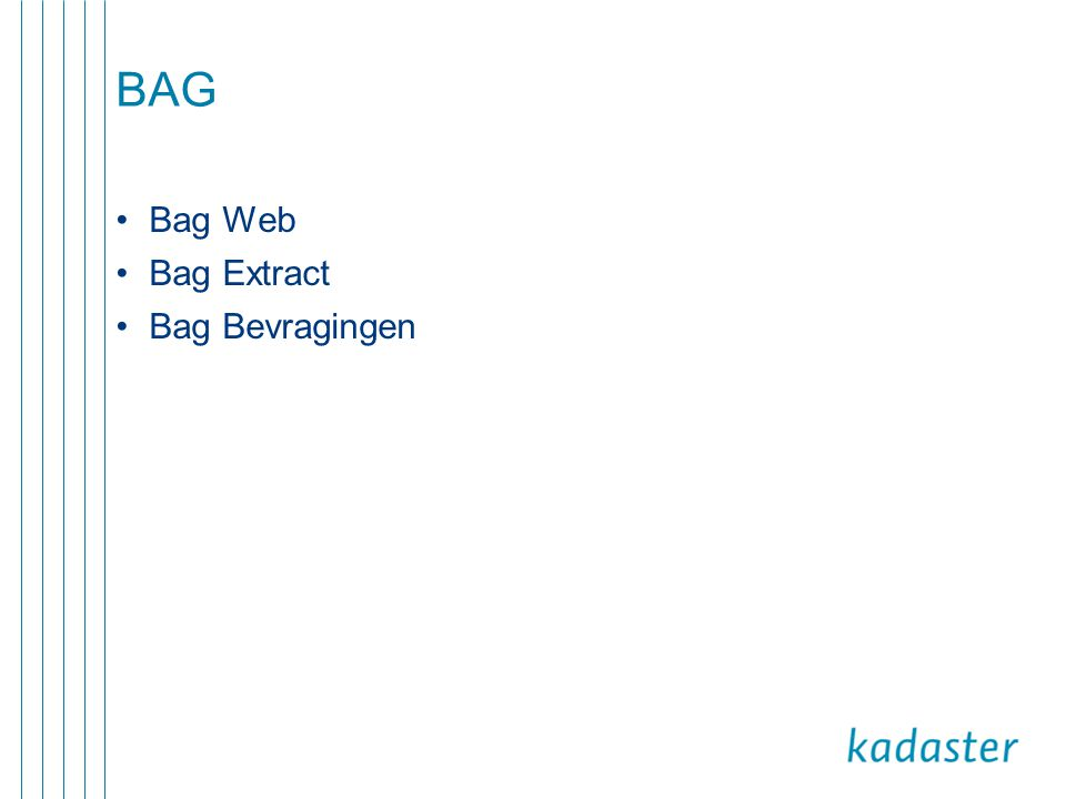 BAG Bag Web Bag Extract Bag Bevragingen