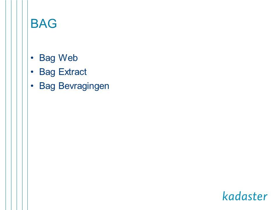BAG Bag Web Bag Extract Bag Bevragingen