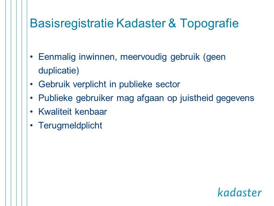 Basisregistratie Kadaster & Topografie