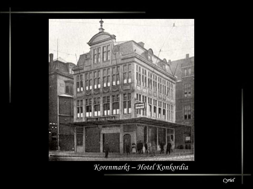 Korenmarkt – Hotel Konkordia
