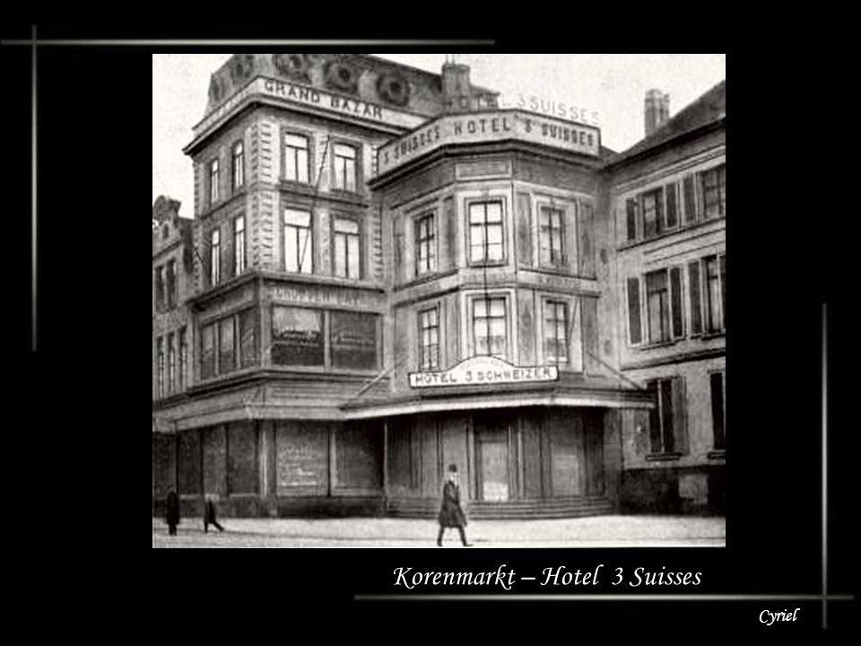 Korenmarkt – Hotel 3 Suisses