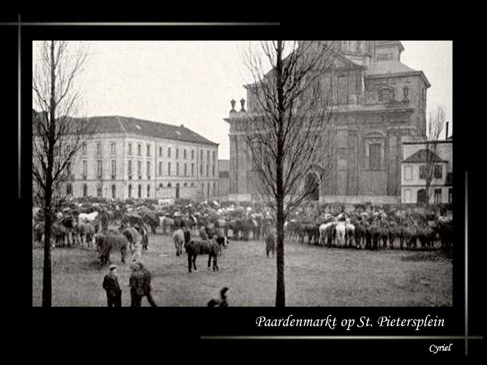 Paardenmarkt op St. Pietersplein