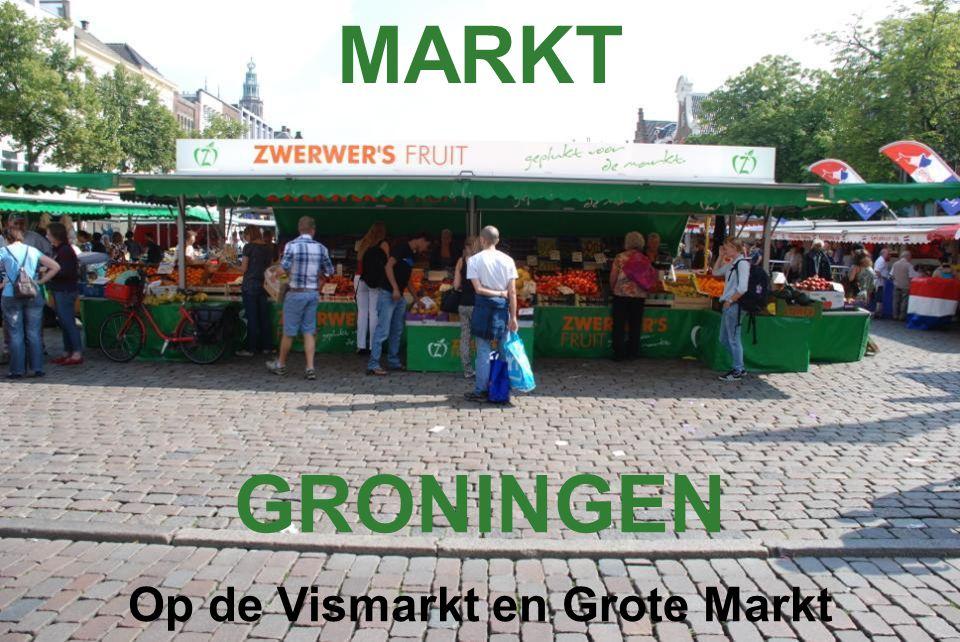 Op de Vismarkt en Grote Markt